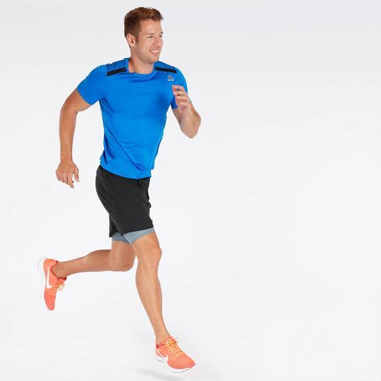 Camiseta Running Azul Reebok Small Delta