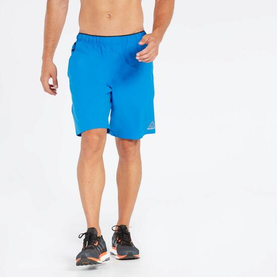 Pantalón Running Azul Reebok Big Word