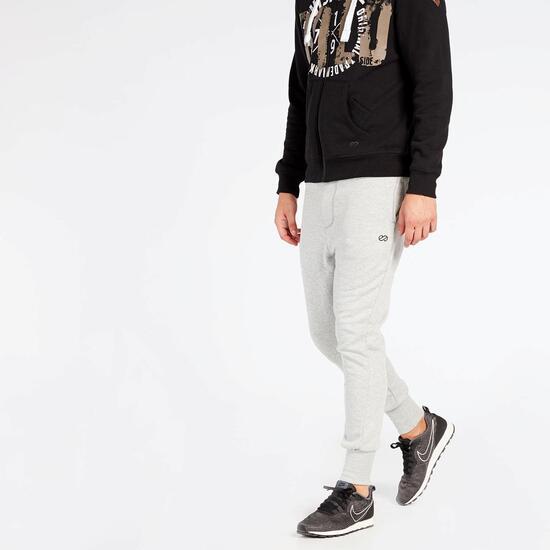 Pantalón Chándal Gris Silver Parres - Pantalón hombre  72e99457d3d9