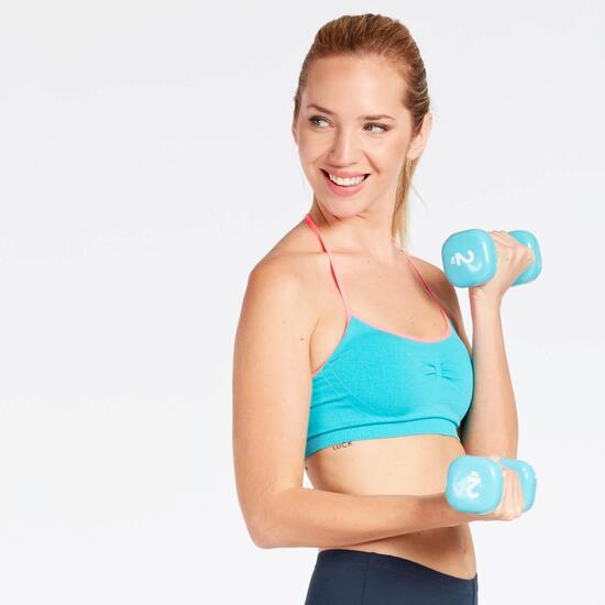 Top Fitness Azul Ilico Bronce