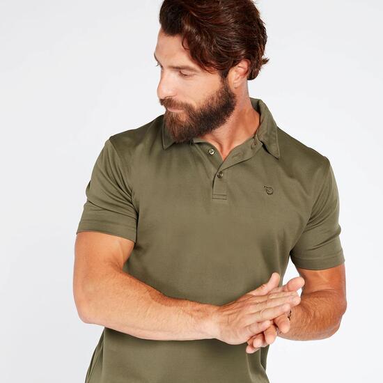 Polo Caza Gamo Verde Hombre