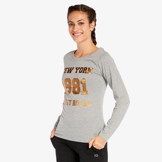 Camiseta Gris Silver
