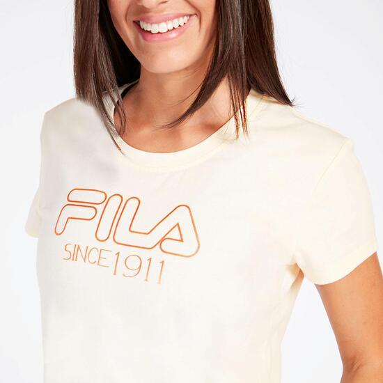 Camiseta Fila Diane Beige