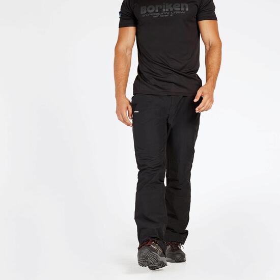 Pantalón Montaña Negro Boriken Zwart-M
