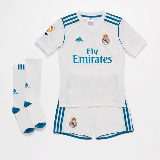 Equipación Real Madrid Niño adidas  e04f8d29b8cb1
