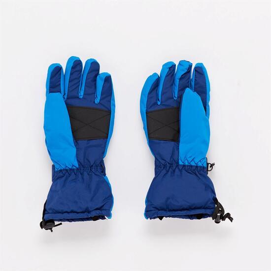 Guante Polar Azul Niño Boriken