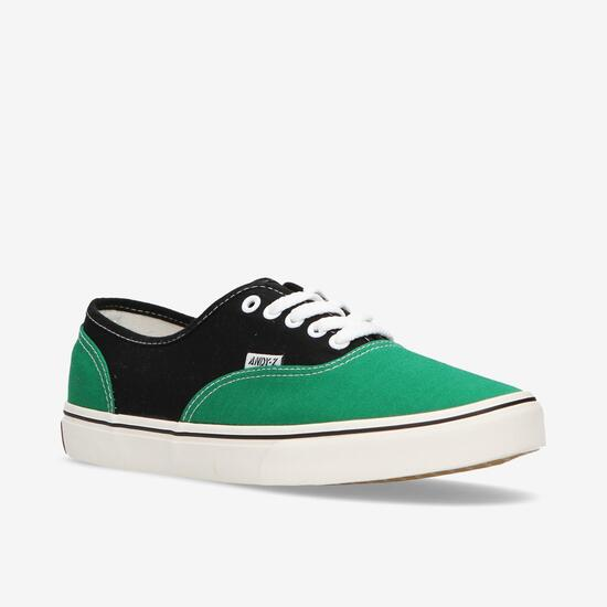 Zapatillas Andy-Z Verdes Negras Hombre