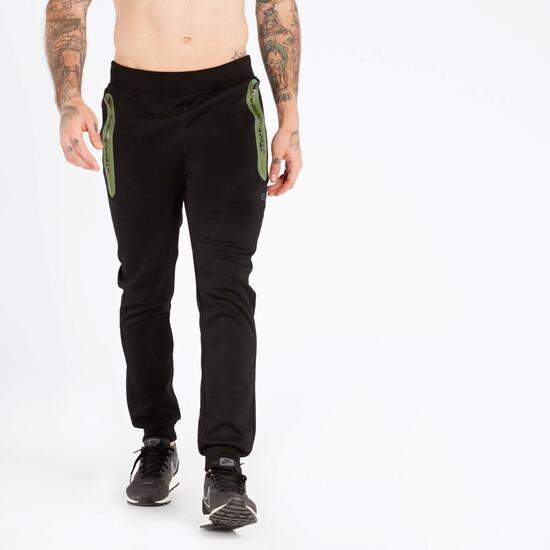 Pantalón Jogger Negro Silver Protech