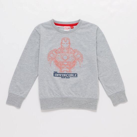 Chándal Iron Man Azul Negro Niño