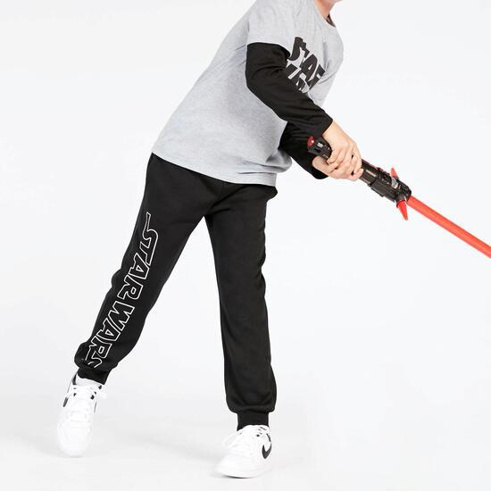 Pantalón Star Wars Negro Niño