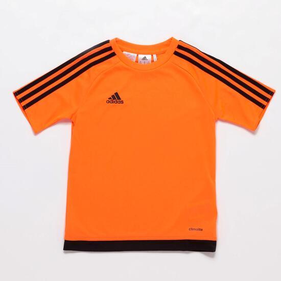 Camiseta adidas Estro 15 Naranja Niño