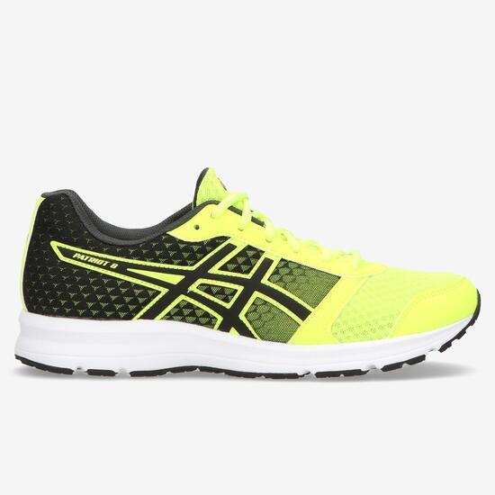 zapatillas asics hombre running amarillas