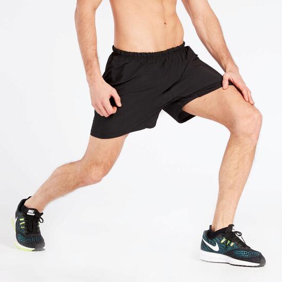 Pantalón Corto Running Reebok Negro