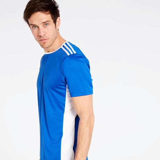 Camiseta adidas Entrada 18 Azul