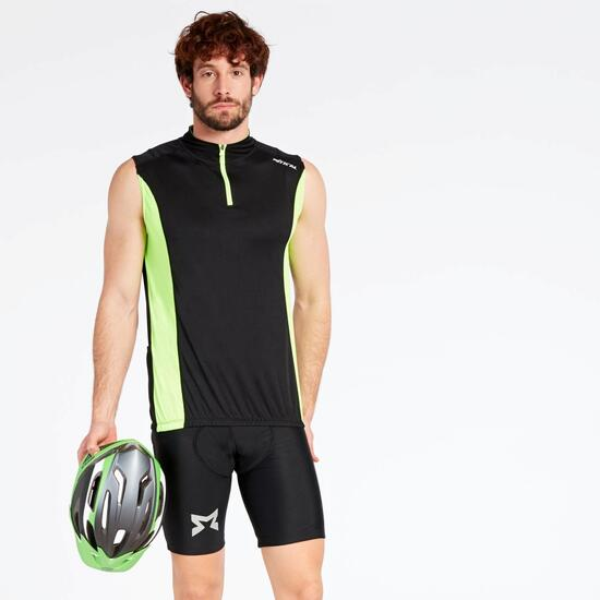 Maillot Ciclismo Negro Mitical Bronce