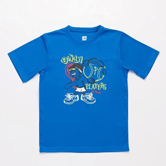 Camiseta Tenis Azul Proton Niño