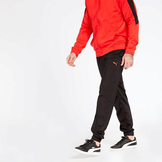 Chándal Puma Rojo Negro