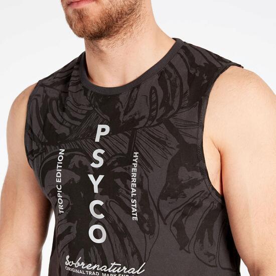 Camiseta Tirantes Silver Psycotropic