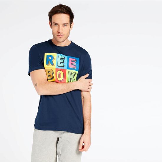 Camiseta Reebok Azul