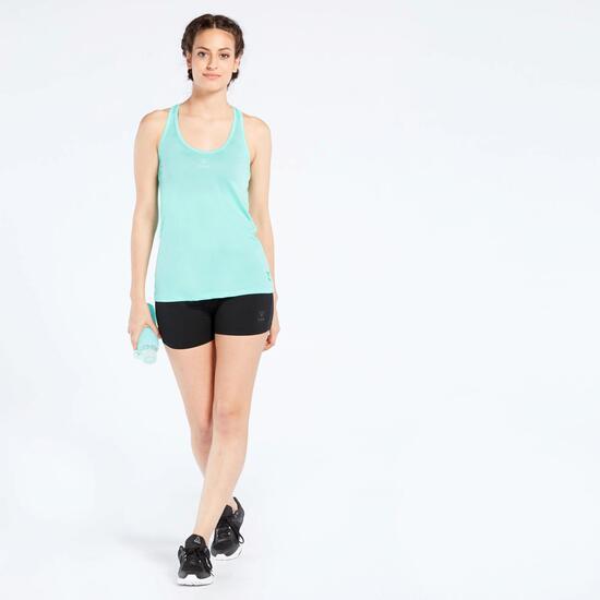 Camiseta Fitness Azul Ilico Basic
