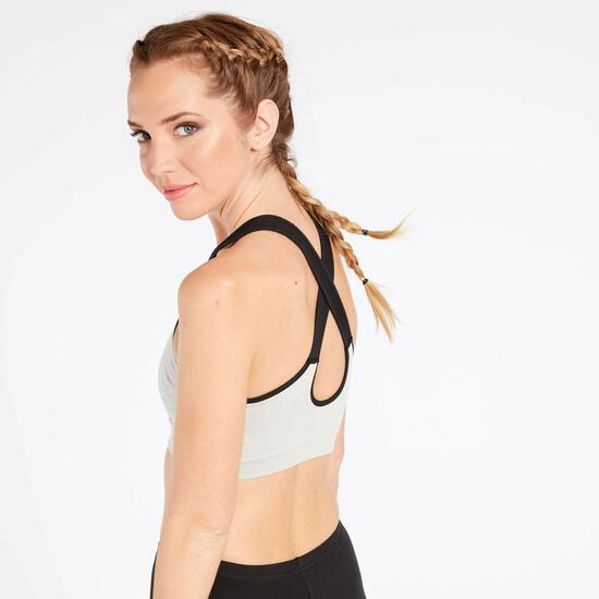 Top Deportivo Gris Ilico Seamless
