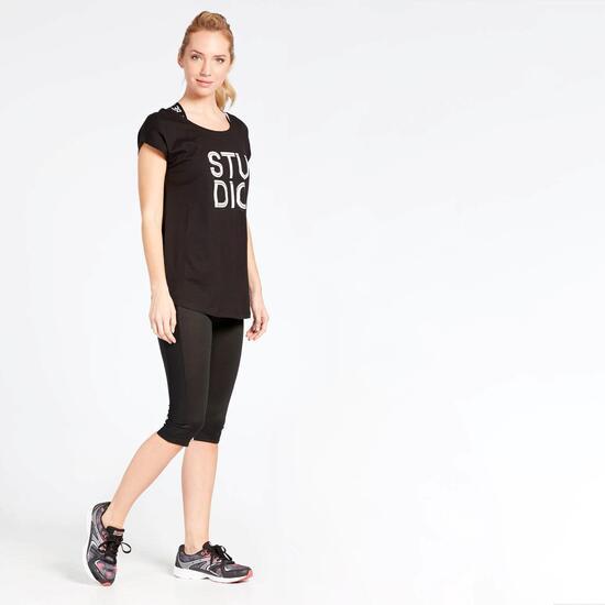 Camiseta Fitness Negra Ilico Studio