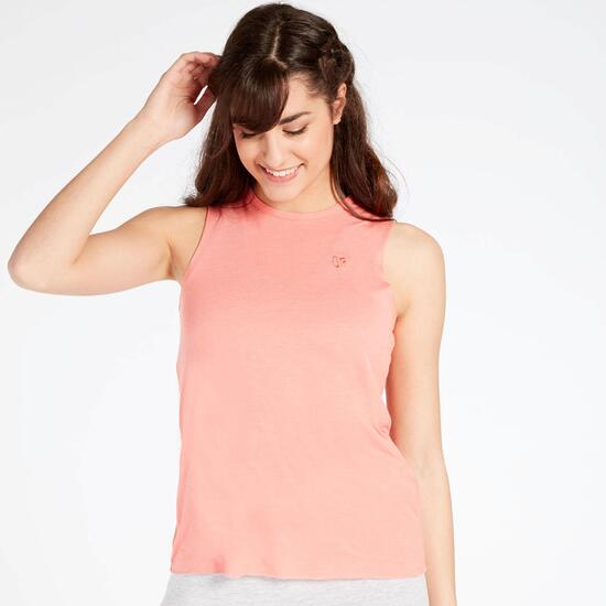 Camiseta Sin Mangas Coral Up Basic