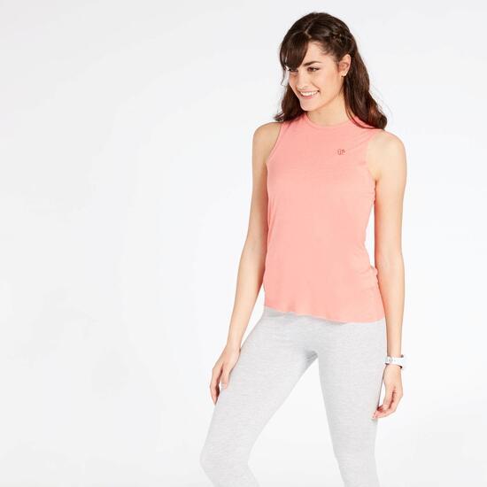 Camiseta Sin Mangas Coral Up Basic
