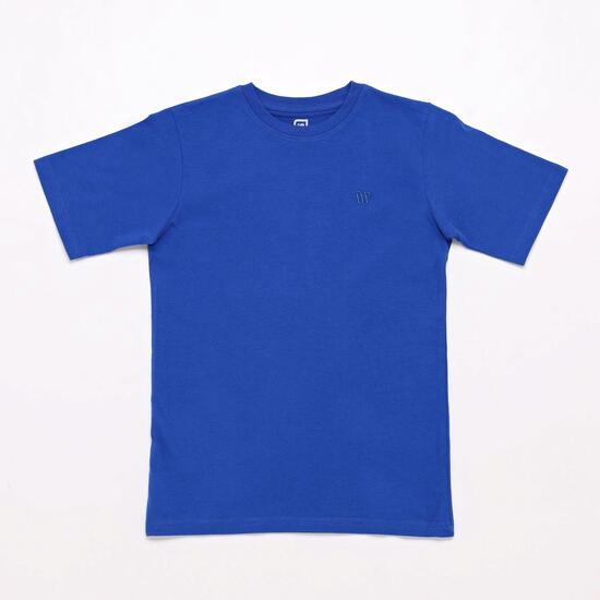 Camiseta Azul Up Basic Junior