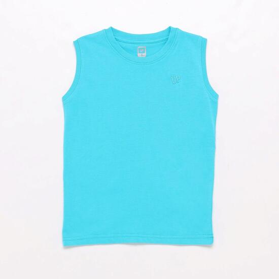 Camiseta Turquesa Up Basic Niño