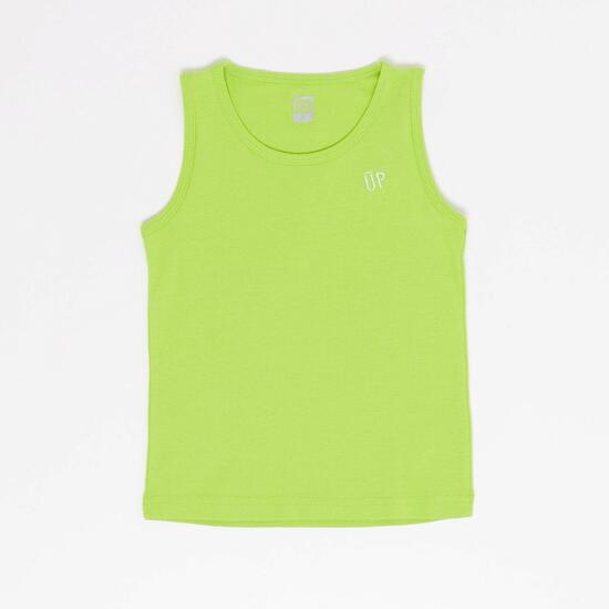 Camiseta Tirantes Up Basic Niño