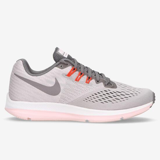 270c51d18 Nike Zoom Winflo 4 Rosas - Zapatillas running mujer | Sprinter