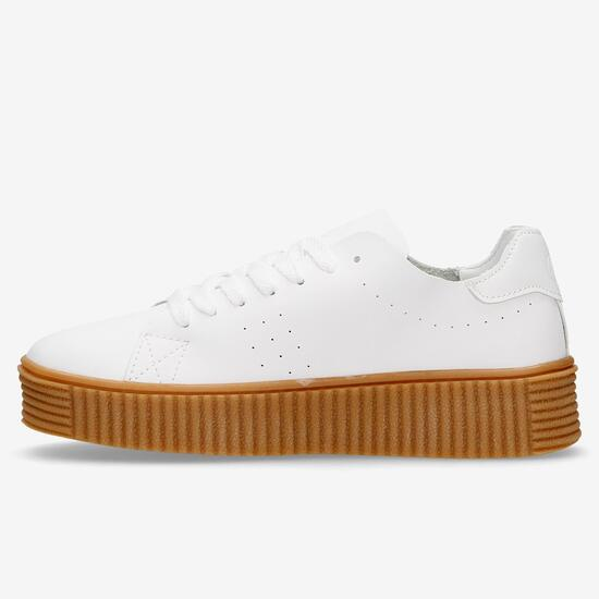Zapatillas Blancas Silver Boston