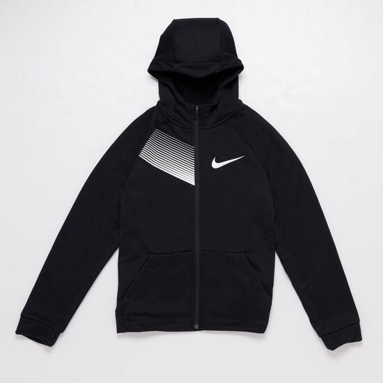 Sudadera Nike Negra Negra Niño