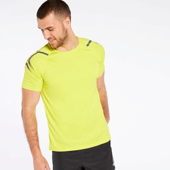 Camiseta Running Asics Icon - Amarillo - Camiseta Running Hombre ... ac3621fb07b