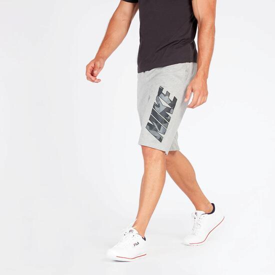 Pantalón Corto Nike Gris Hombre