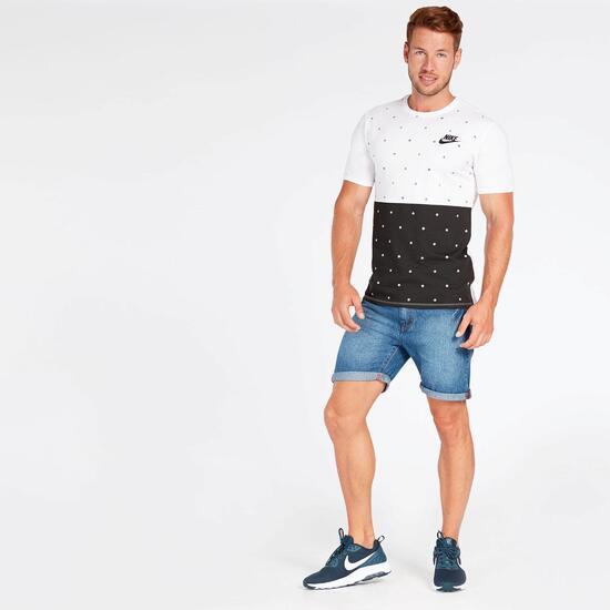 Pantalón Corto Nike Blanco Hombre