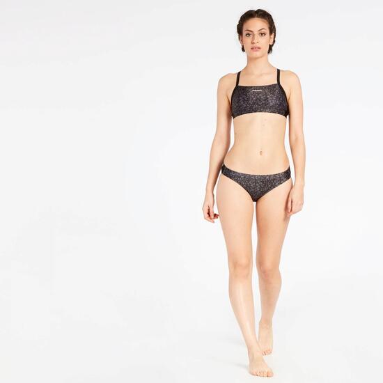 Bikini Natación Negro Paraqua