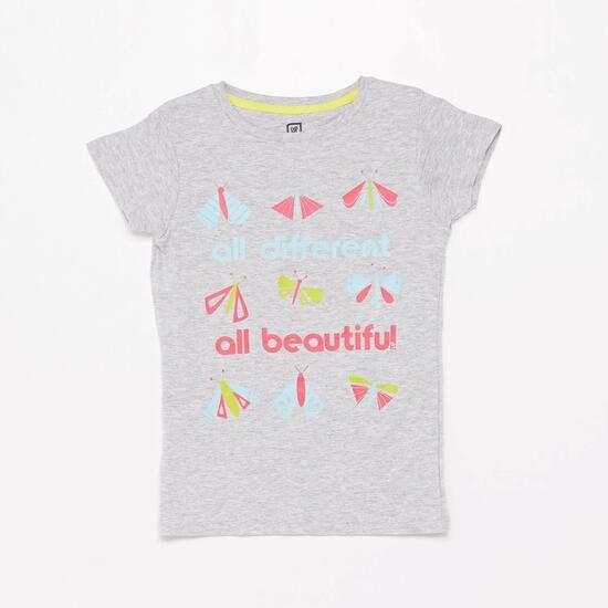 Camiseta Gris Up Niña