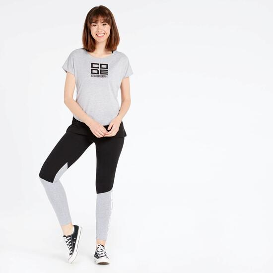 Camiseta Doble Silver Black and White