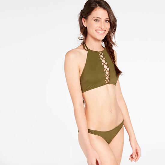 Bikini Halter Silver