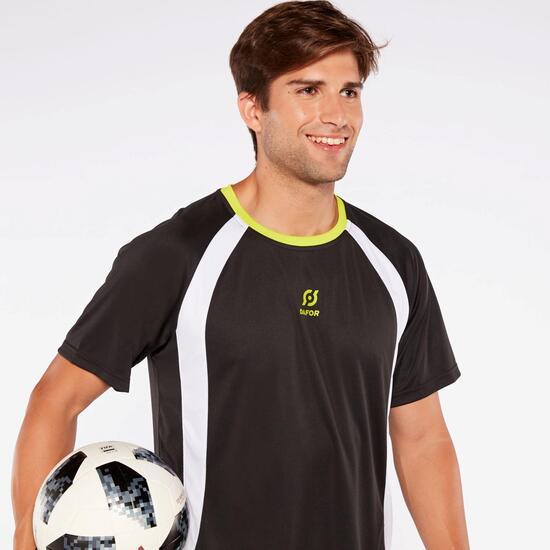 Camiseta Fútbol Dafor Negra