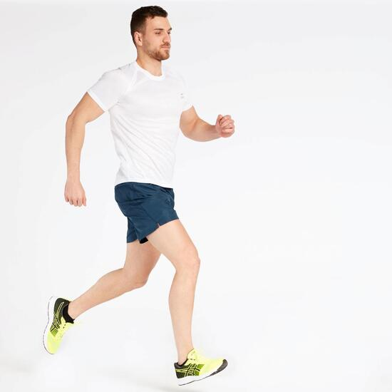 Camiseta Running Blanca Ipso Basic