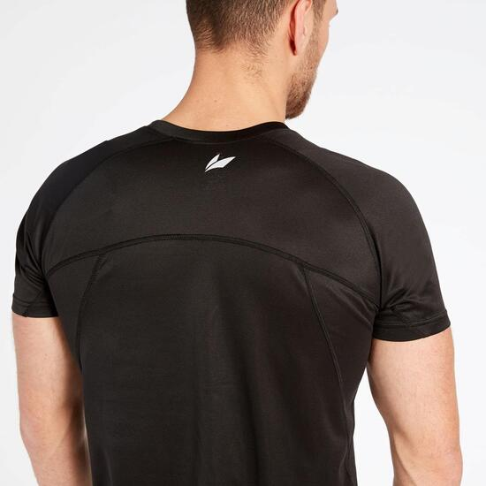 Camiseta Running Negra Ipso Basic