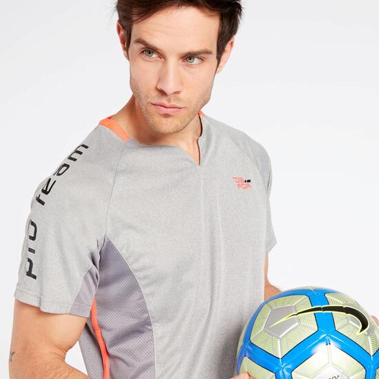 Camiseta Gris Dafor Combi