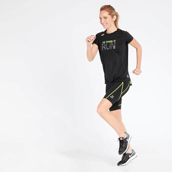 Camiseta Running Negra Ipso Experience