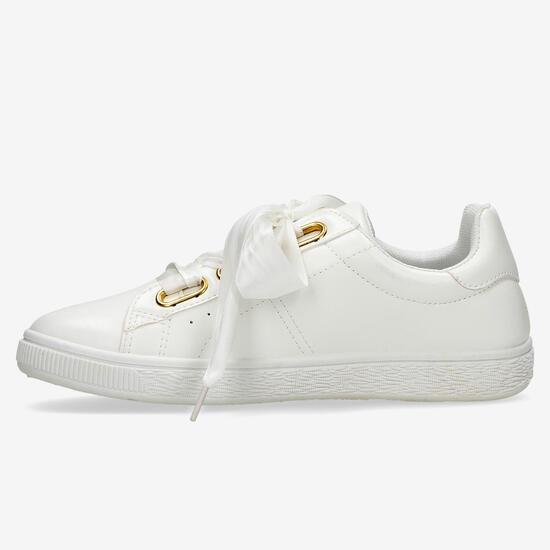 Zapatillas Lazo Blancas Nicoboco