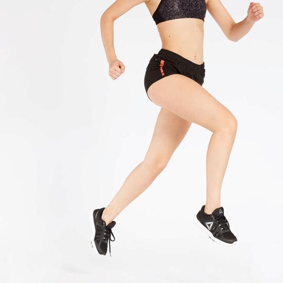 Pantalón Corto Running Negro Ipso Combi 1