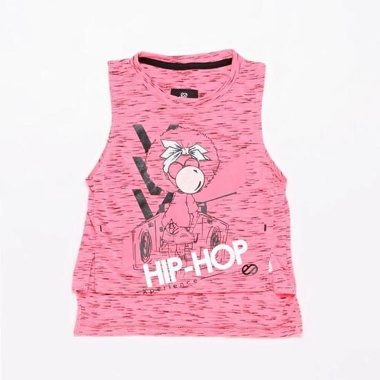 Camiseta Tirantes Silver Hip Hop Niña