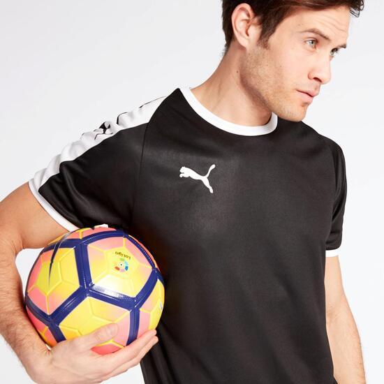 Camiseta Fútbol Puma Negra